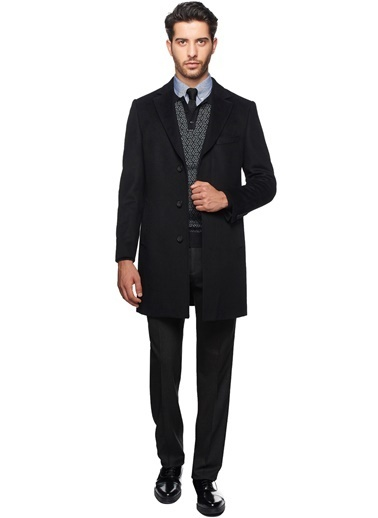 Altınyıldız Classics Palto Siyah